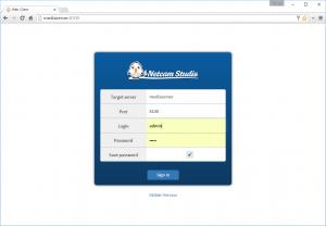 Netcam_studio_webclient_login